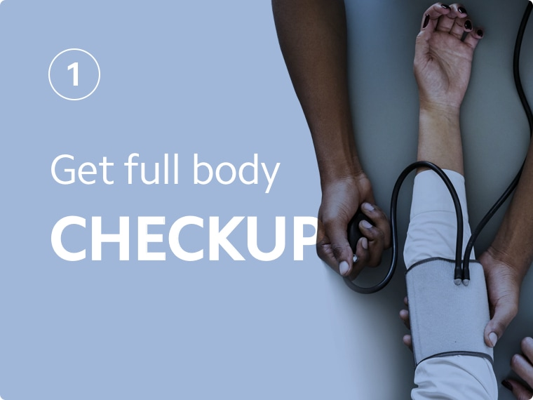 Get full body checkup