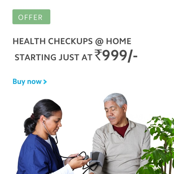 Health checkups at home starting just at Rs.999