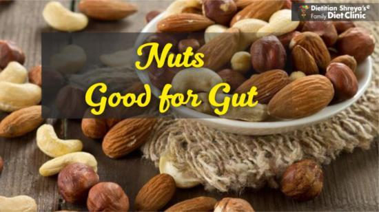 Nuts Good for Gut!
