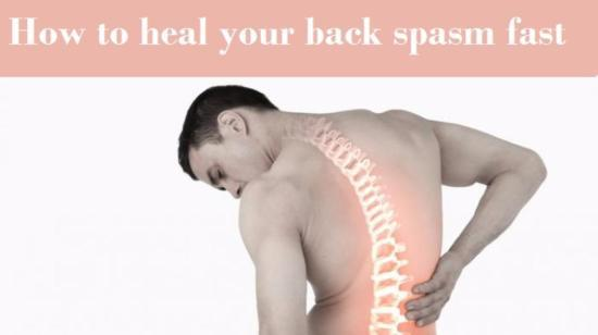 15 Tips  to Heal Your Back Spasm Fast
