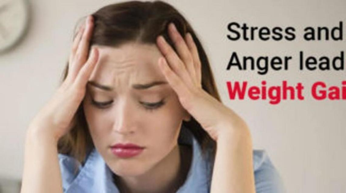 How Does Stress and Anger Lead to Weight Gain?