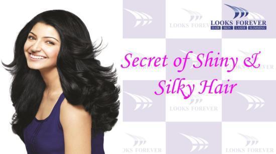 5 Secrets of Shiny & Silky Hair