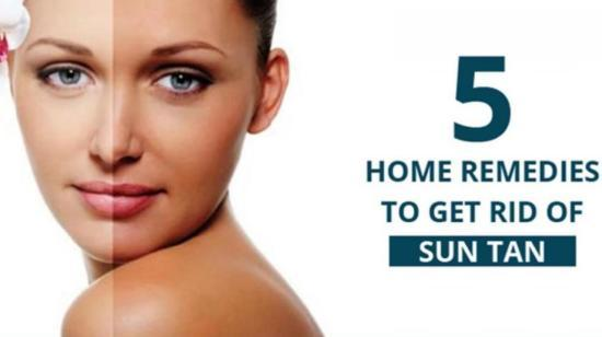 5 Home Remedies to get rid of a stubborn Sun Tan
