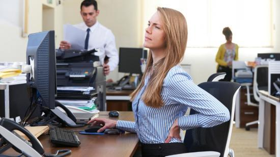 Lower Back Pain : Common for Desk Job People.