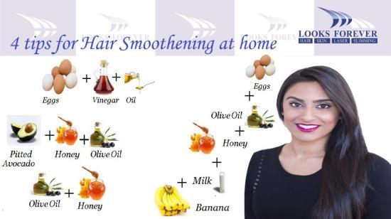 4 Tips for Hair Smoothening at Home