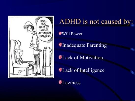 Not All Attention Problems Are Adhd >> Attention Deficit Hyperactivity Disorder Adhd