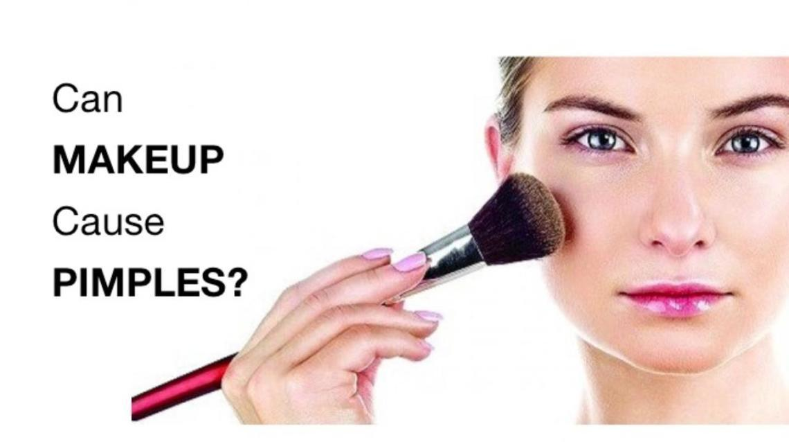 Can Makeup Cause Pimples?