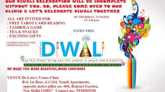 Come Let's Celebrate Diwali Together