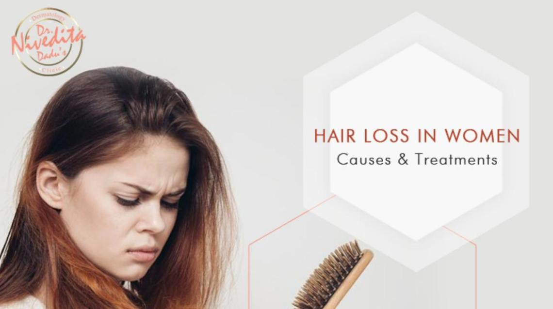 Hair Loss in Women: Causes and Treatments