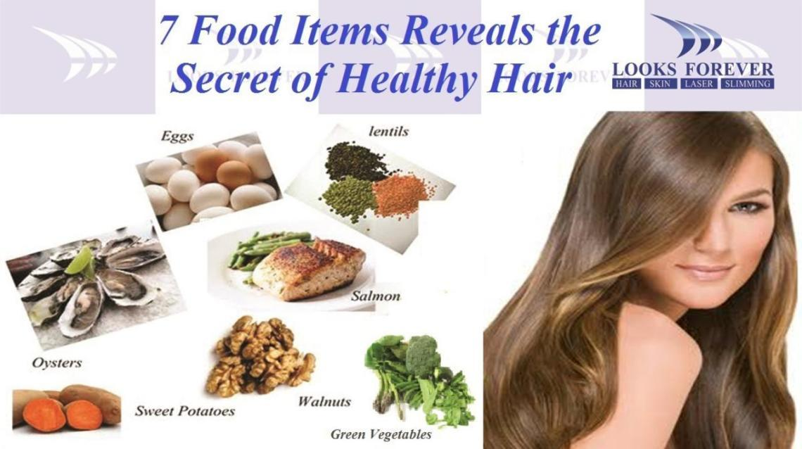 7 Top Food Items Reveals the Secret of Healthy Hair