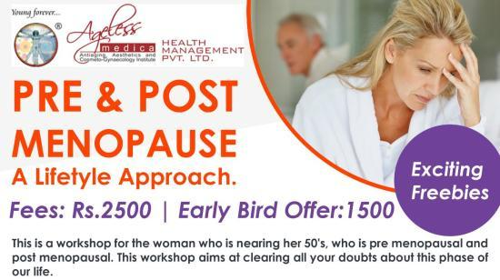 Pre and Post Menopause- a Lifetyle Approach.