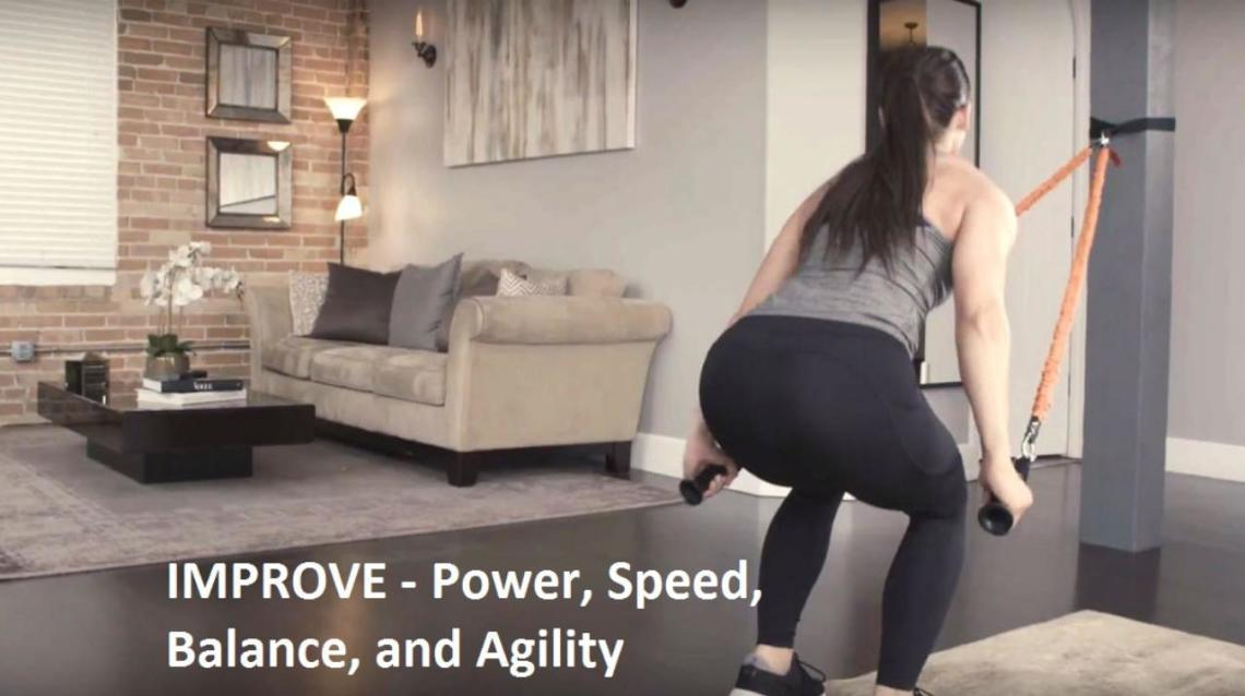 Improve - Power, Speed, Balance, and Agility