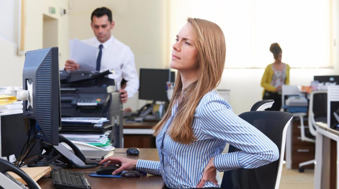 In a Desk Job? Here's How to Take Care of Your Back and Neck