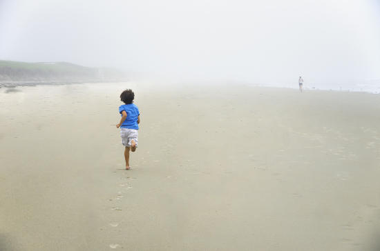 Tracing the steps on the beach..!!