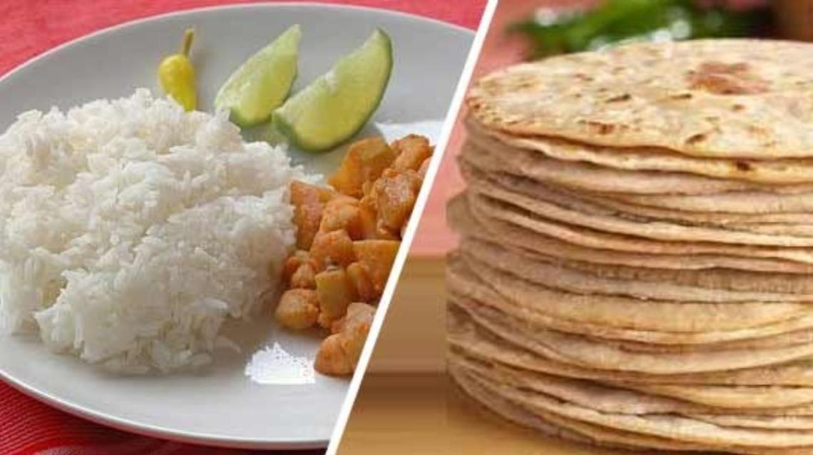 Image result for roti and rice