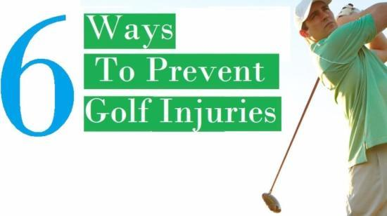 6 Ways to Prevent Golf Injuries