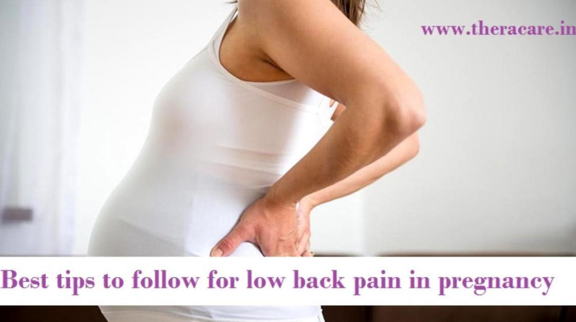 9 Best Tips to Follow for Low Back Pain in Pregnancy