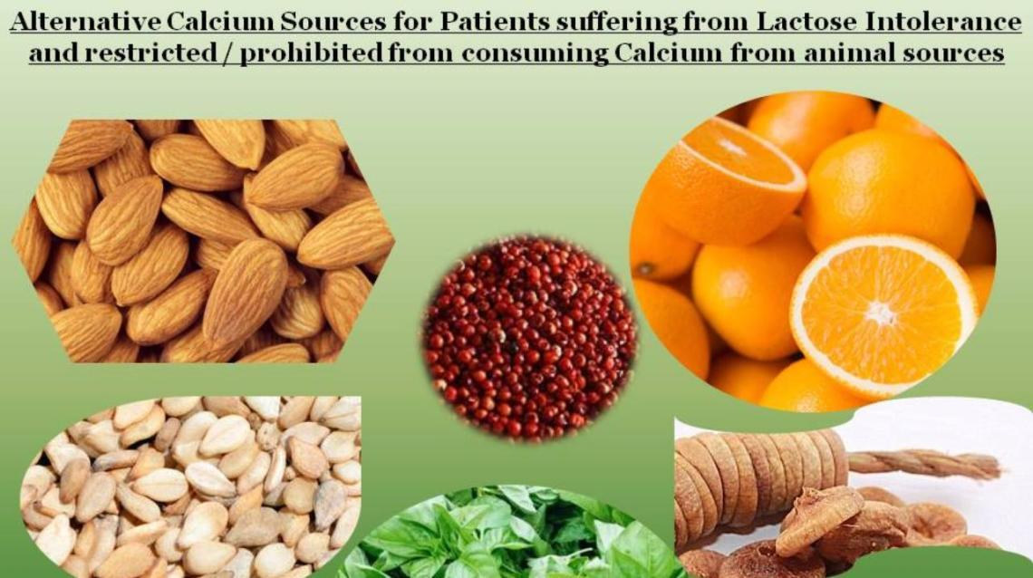 Calcium Sources From Vegetarian Foods