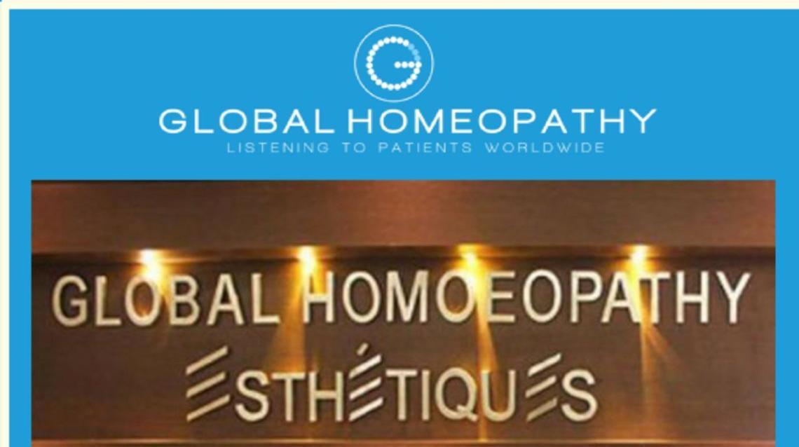 Global Homoeopathy/ Esthetiques Organises Camp - 7th to 10th July 2017.