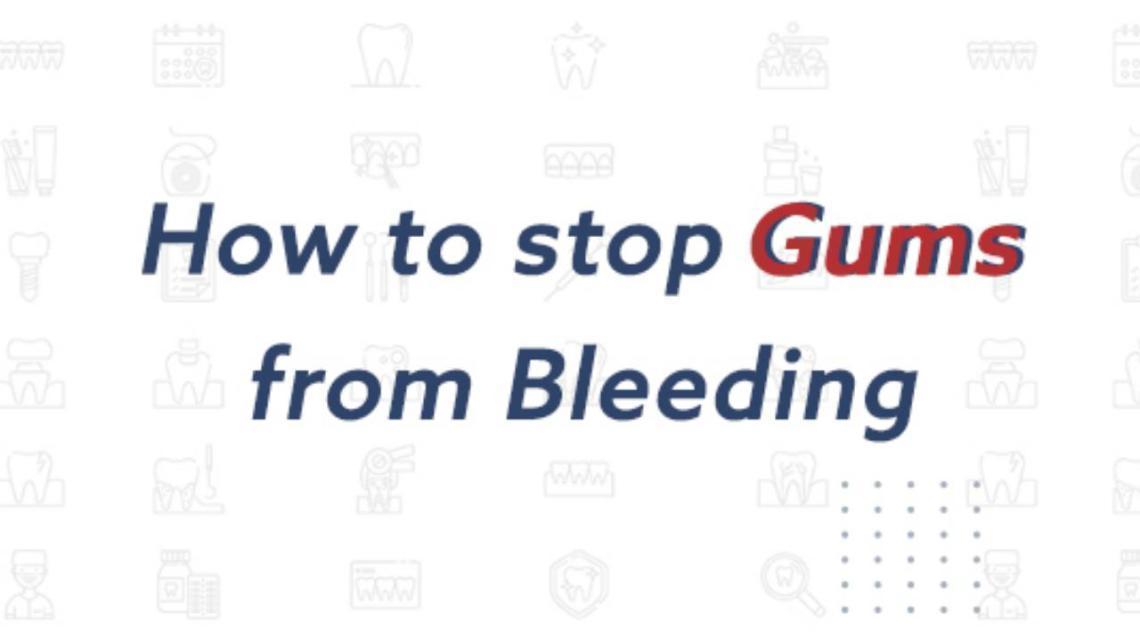 How to Stop Gum Bleeding in Case of Emergency