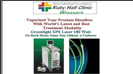 Vaporize Prostate Using Green Light Laser With Dr Himesh Gandhi