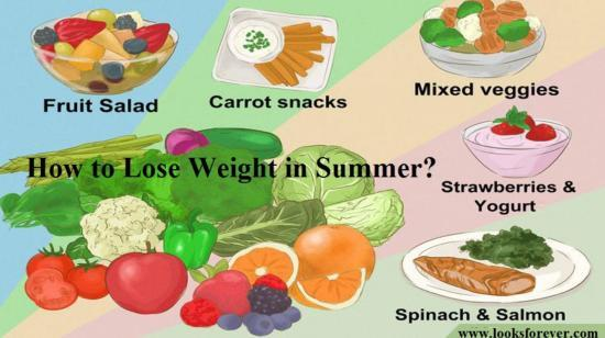 How to Lose Weight in Summer?