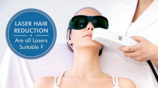 Laser Hair Removal: Are All Hair Removal Lasers Suitable?