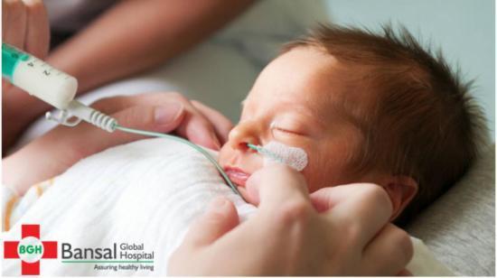High Risk Clinic for New Born Babies at Bansal Global Hospital