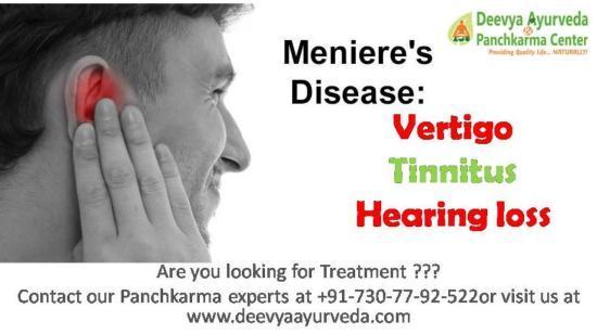 Ayurvedic & Panchkarma Treatments for Meniere's Disease