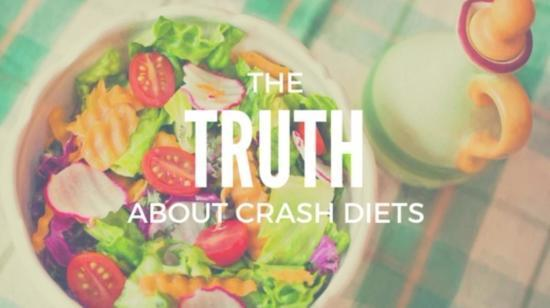 5 Reasons Why Crash Dieting Is Not a Good Option!