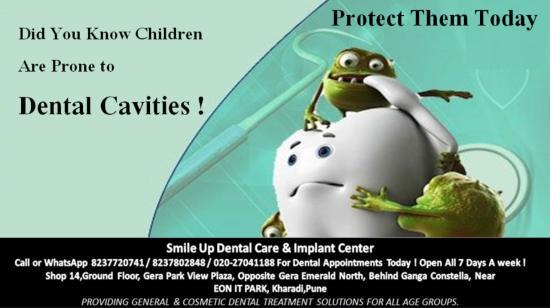 Children Are Prone to Cavities ! Learn How to Protect Them ...
