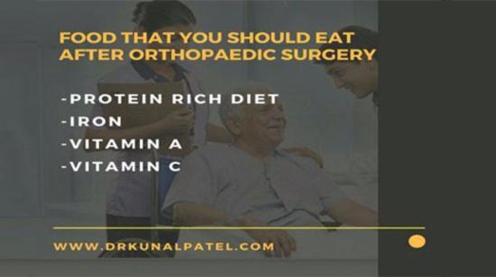 Food That You Should Eat After Orthopedic Surgery