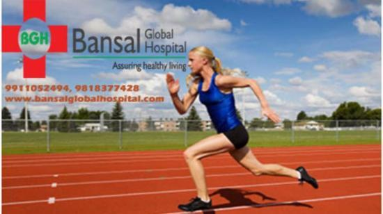 Sports Injuries and Its Effective Treatment at Bansal Global Hospital