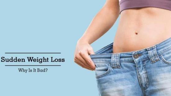 Sudden Weightloss Is Injurious to Health???? Understand Why???