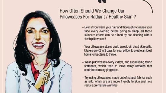 How Often Should We Change Our Pillowcases For Radiant / Healthy Skin ?-