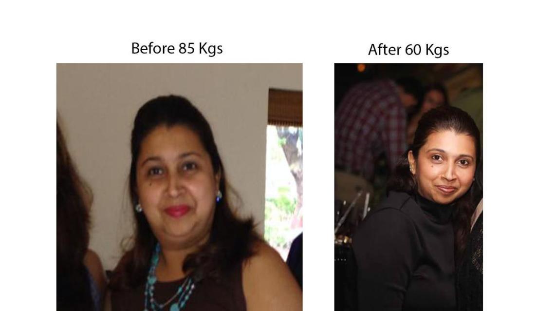 Monica Lost an Astonishing 25 Kgs in 8 Months