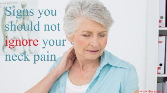 Signs You Should Not Ignore Your Neck Pain