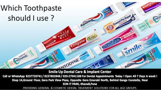 What Toothpaste Should I Use ?