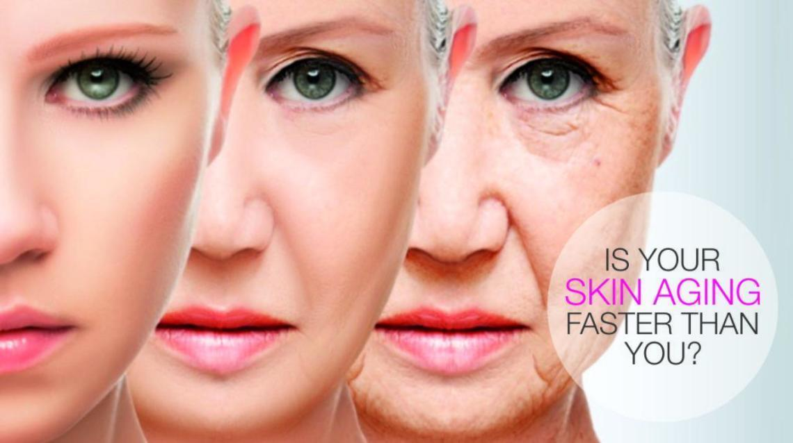 Worried about skin ageing?