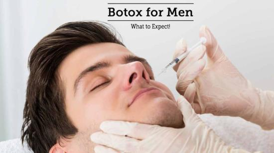 Botox for Men - What to Expect!