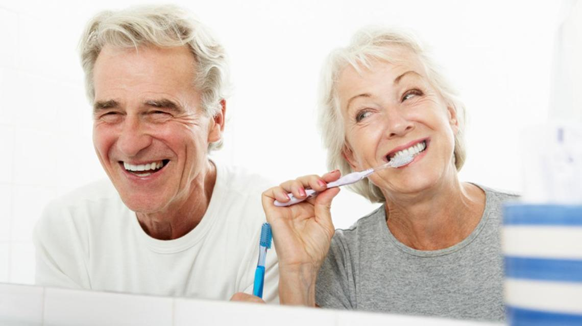 Healthy Mouth Helps in Healthy Aging