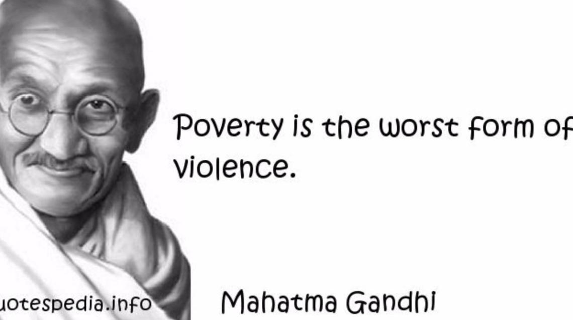Poverty for the Poor and Obesity for the Rich