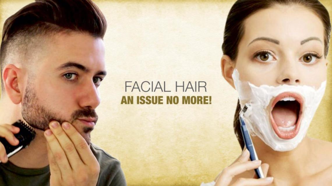 Facial Hair: An Issue No More!