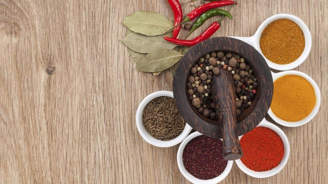 Add Spices to Enhance Taste and Health