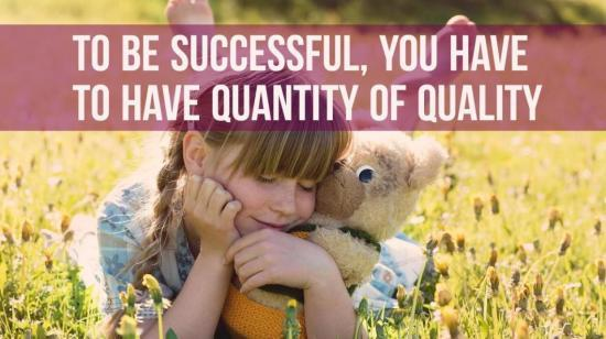 Interaction With My Child: Quality vs. Quantity…What Works Best?
