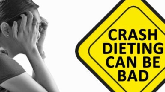 Pros and Cons of Crash Diet for Losing Weight !!
