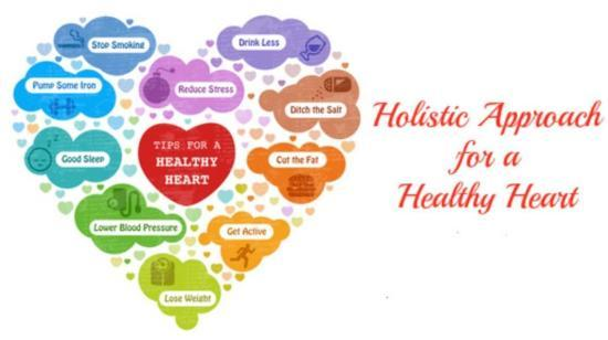 Holistic Approach for a Healthy Heart!!