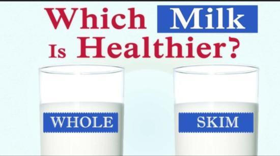 Whole Milk or Skim Milk?
