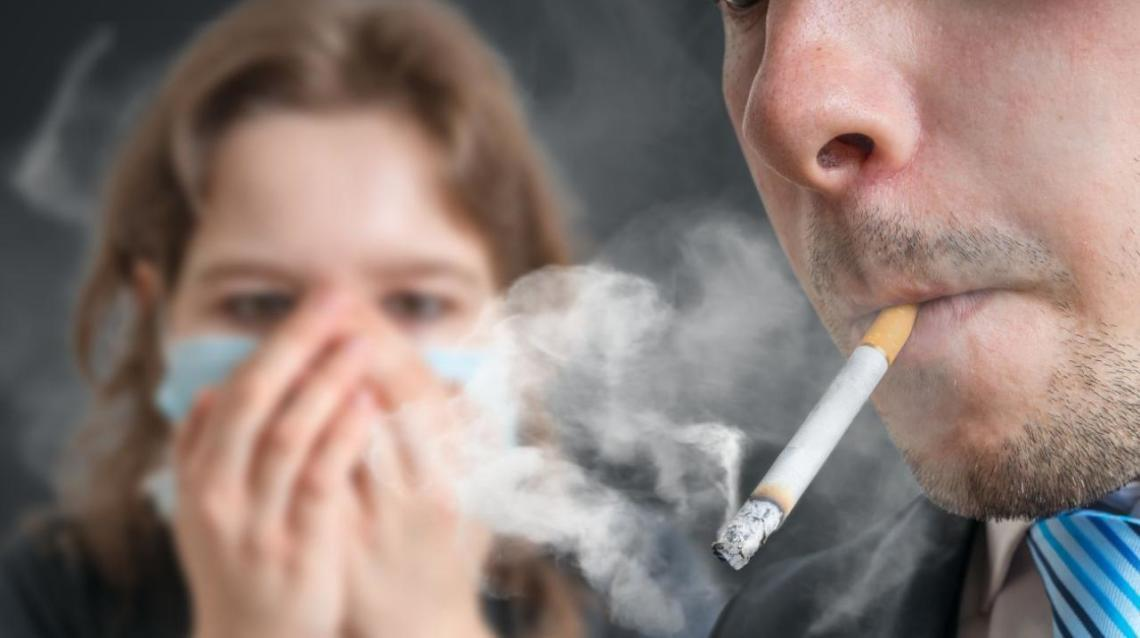 Image result for passive smoker