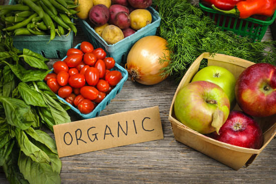 Go organic and say yes to a healthy life.